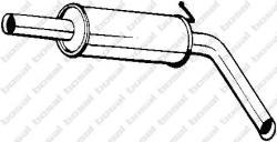 BOSAL Toba esapamet intermediara VW POLO (9N) (2001 - 2012) BOSAL 220-039