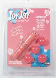 ToyJoy Diamond Couture Pocket Rocket köves klitoriszizgató szett
