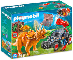 Playmobil Buggy inamic cu Triceratops (9434)