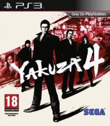 SEGA Yakuza 4 (PS3)