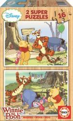 Educa Micimackó és barátai 2x16 db-os (14956)