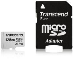 Transcend MicroSDXC 128GB C10/U3/V30/A1 TS128GUSD300S-A