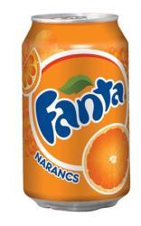 Fanta Narancs (0,33l)