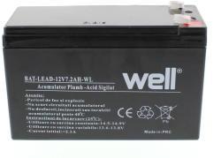 well BAT-LEAD-12V7.2AH-WL