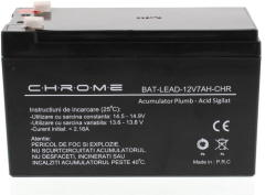 Chrome Battery BAT-LEAD-12V7AH-CHR