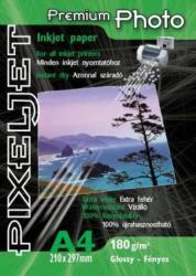 PixelJet Photo Paper, Premium fényes, 180gr. , A4 /db ! ! (pix180-A4)