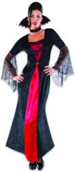 Amscan Vámpír grófnő felnőtt jelmez 38-40-es méret (996220)