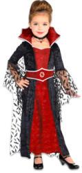 Amscan Vámpír királynő jelmez 4-6 éveseknek 110cm-es méret (848089-55)