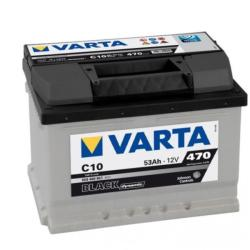 VARTA C10 Black Dynamic 53Ah EN 470A (553400047)