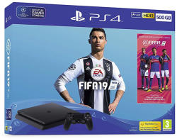 Sony PlayStation 4 Slim 500GB (PS4 Slim 500GB) + FIFA 19