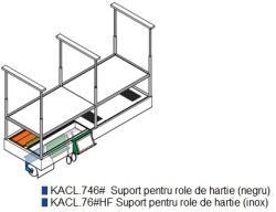 FALMEC Suport pentru role de hartie (inox), pentru hota FALMEC Spazio. Circle Tech (KACL. 746#) (KACL. 746#)