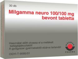Wörwag Pharma Milgamma Neuro 100/100mg bevont tabletta 30db