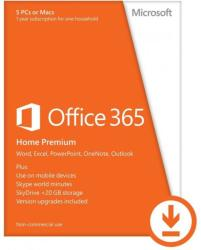 Microsoft Office 365 Home Premium HUN 6GQ-00912