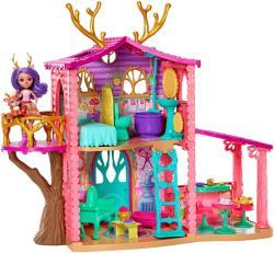 Mattel Enchantimals - Őzikés házikó - Danessy Deer (FRH50)