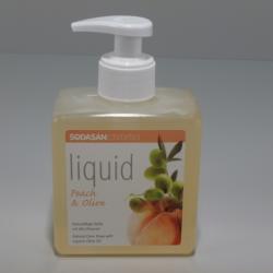 SODASAN Bio folyékony barack-oliva szappan (300 ml)