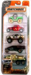 Mattel Matchbox - 5 db-os kisautó készlet - Dirty Mudder kisautók