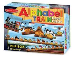 Melissa & Doug MD0424 (28) - Trenul alfabet