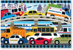 Melissa & Doug MD4421 (24) - Blocaj in trafic