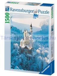Ravensburger Neuschwanstein télen 1500 db-os (16219)