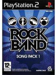 MTV Games Rock Band Song Pack 1 (PS2)