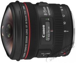 Canon EF 8-15mm f/4L USM Fisheye (AC4427B005AA)