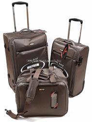Touareg 3 részes kabinbőrönd + közepes bőrönd + fedélzeti táska szett (TG9211-S-M)
