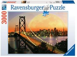 Ravensburger San Francisco éjjel 3000 db-os (17039)
