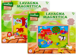 Globo Legnoland mágneses tábla állatokkal - többféle (377160)