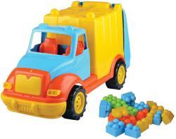 Ucar Toys Camion pentru gunoi cu 38 piese constructie (UC86)