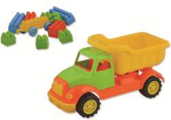 Ucar Toys Autobasculanta cu 36 piese constructie (UC103)