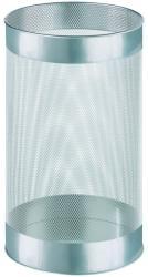 Alco Cos metalic cu perforatii, forma rotunda, 15 litri, ALCO - argintiu