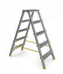 Alverosal 968 Scara dubla aluminiu 2x8 trepte (81968299)