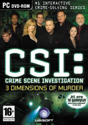 Ubisoft CSI: Crime Scene Investigation 3 Dimensions of Murder (PC)