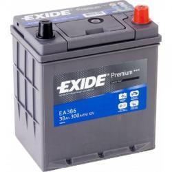 Exide Premium EA386 38Ah 300A jobb+ (EA386)