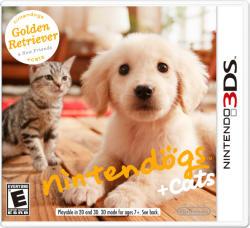 Nintendo Nintendogs + Cats Golden Retriever & New Friends (3DS)