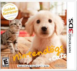 Nintendo Nintendogs + Cats Golden Retriever & New Friends (3DS)