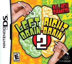 Majesco Left Brain Right Brain 2 (Nintendo DS)