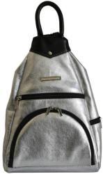 Aga Hengl Ága Hengl Gyömbér ezüst női bőr hátizsák (AH-gyomber-ezust)