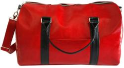 58 990 Ft Aga Hengl Ága Hengl piros bőr utazótáska 52 x 32 cm.  (AH-utazotaska 16b8d571cc