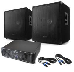 "Skytec DJ PA система ' LEWIS 1600 BASS HURRICANE' 17.7"" 1600W комплект (PL-60000051-10001710) (PL-60000051-10001710) - electronic-star"