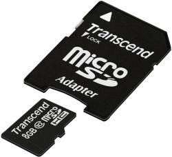 Transcend microSDHC 8GB class 10 TS8GUSDHC10