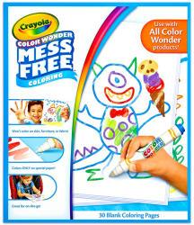 Crayola Color Wonder - Maszatmentes kifestőlap utántöltő