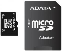 ADATA microSDHC 4GB Class 4 AUSDH4GCL4-RA1