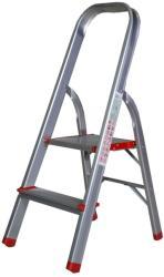 Bisonte STR0102 - Scara aluminiu 2 trepte (BT1006288)