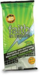 Faith in Nature Antibakteriális törlőkendő 40 db