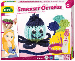 LENA Strickser Octopus polip horgoló szett (42009)