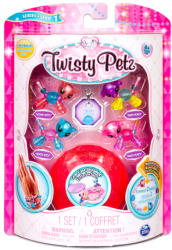 Spin Master Twisty Petz - Twin Babies 4 db-os karkötő készítő szett - többféle (6044224)
