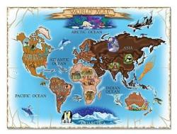 Melissa & Doug MD3171 (500) - Harta Lumii