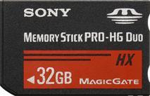Sony Memory Stick PRO-HG Duo HX 32GB MSHX32A