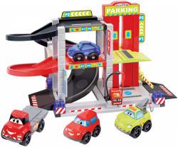 Ecoiffier Abrick Maşini rapide - Garaj etajat cu 4 maşini (3043)